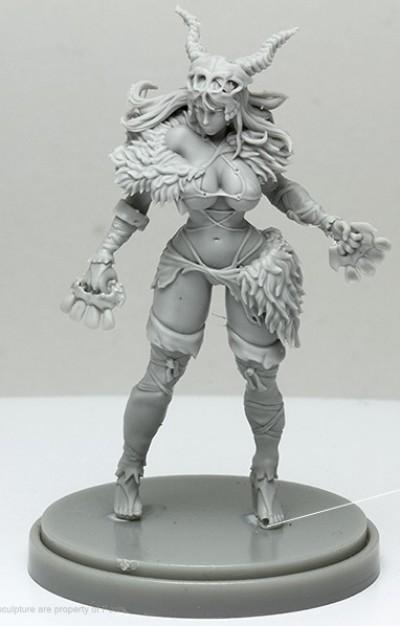 Pinup Primal Huntress