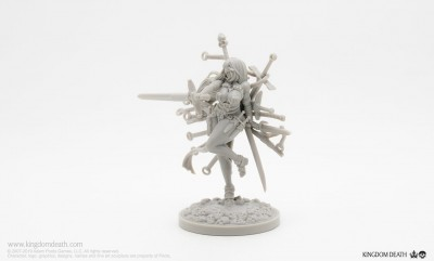 White Speaker - Sword Hunter (with eye folds)