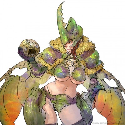 Pinup Dung Beetle Knight